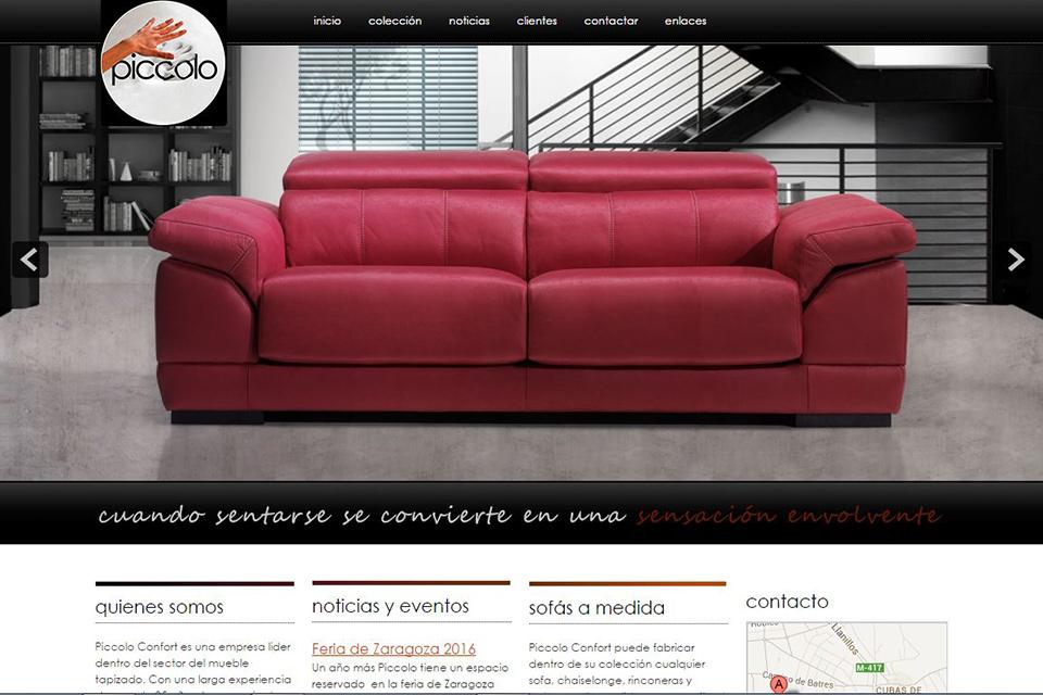 Fabricante Sofas Piccolo Confort