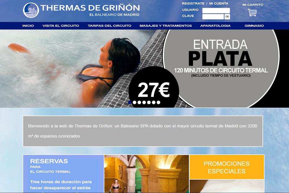 Balneario Thermas de Griñon